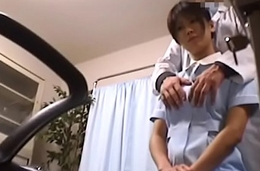 Japanese Voyeur Footage of Clumsy Nurses Making up be required of Their Mistakes to a Dominant Doctor 1 [upload king]