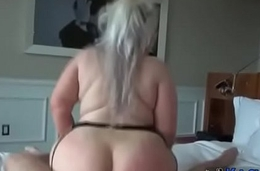 Chubby BBW Blonde with Huge Ass and Tits - KacyLive.com