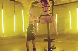 Beautiful Scared Slave gets punished