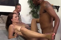 Hotwife rides black cock