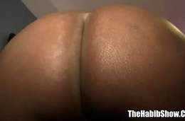 sexy newbie armani chocolate fucked by hairy paki