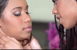 Bratty Ebony Teen Lesbian Lovers Jenna Foxx &amp_ Kira Noir Get It On