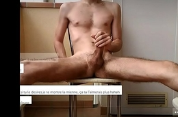 naked boy jerking extensively