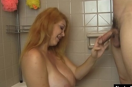 Charlee Chase Blonde Bathtime BJ