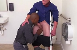 Black employee assfucked by his boss