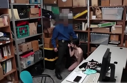 Cop strip tease Suspect was caught red-hot passed by store associate.