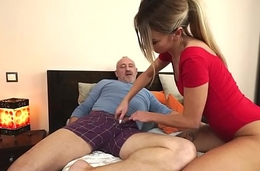 Teen jizzed by old defy