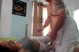 Oil knead and Fuck for Hot Teen