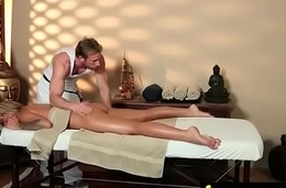Massage Girl Sucks the Tip for a Tip 17