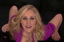 Smoking Hot Mommy Julia Ann Gives A POV BlowJob &amp_ FootJob!