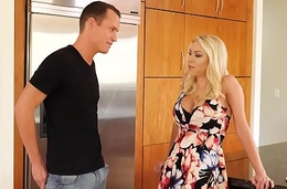 Big tits MILF Katie Morgan fucks a young big detect - Naughty America