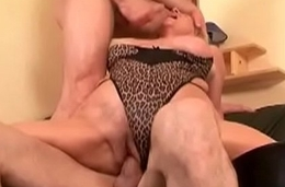 Long White Dick Roughly Fucks Her Sinistral Pussy 16