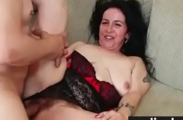 Wife with a hairy pussy screwed 12