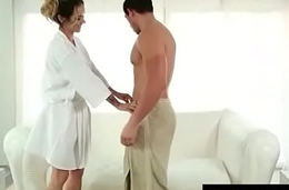 Lucky Client gets a Full Service Massage 3